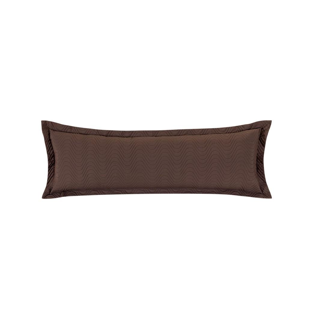 Porta Travesseiro Xuxao Marrom 145m x 45cm - Juma