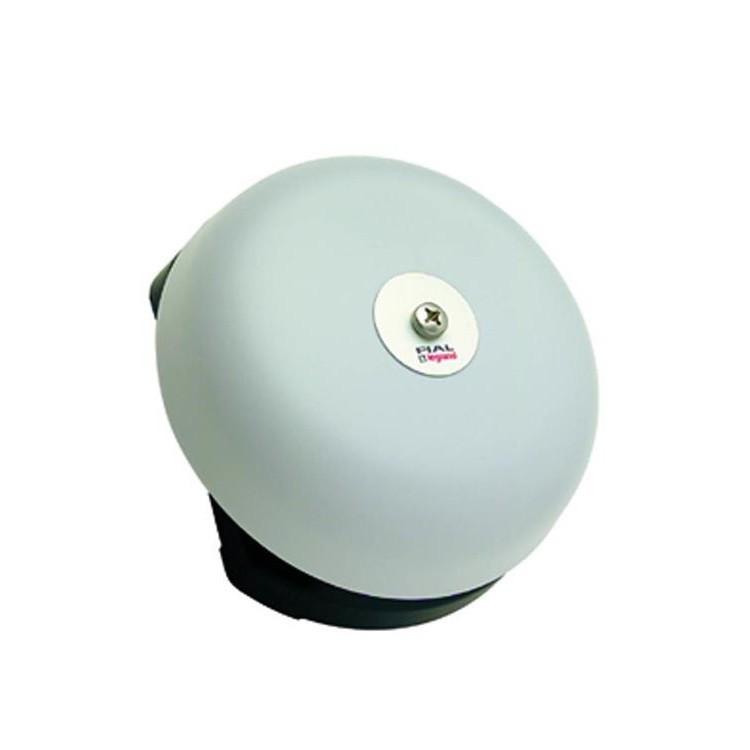 Campainha Eletronica com Fio Conjunto Montado 3 Toques Musicais 220V Branca Redonda 150mm - Legrand
