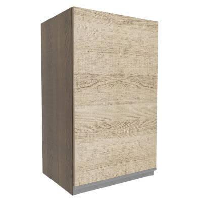 Armario Aereo Glamy 40cm 1 Porta Rustic Saara - Madesa