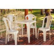 Cadeira de Polipropileno Giovanna Fendi Brilho - Duoplastic
