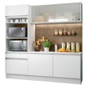 Cozinha Compacta Topazio com Balcão Branco - Madesa