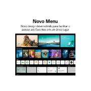 "Smart TV LED 70"" LG 4K/Ultra HD 70UP7750PSB - Conversor Digital Wi-Fi 3 HDMI 2 USB - ThinQ Smart Magic Google Alexa"