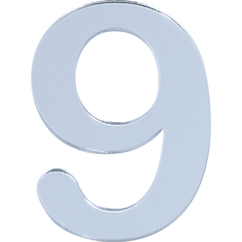 Numero 9 em Acrilico Espelhado - Acrilico Design
