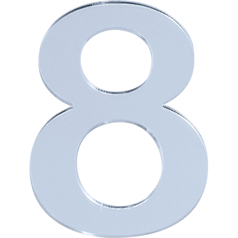 Numero 8 em Acrilico Espelhado - Acrilico Design