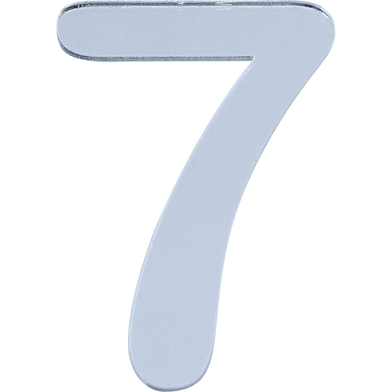 Numero 7 em Acrilico Espelhado - Acrilico Design