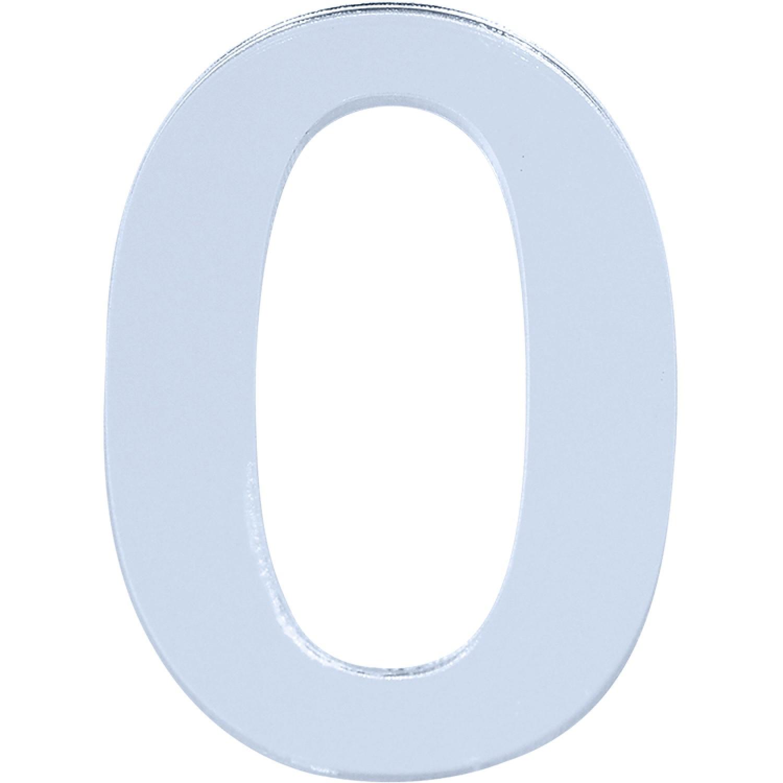 Numero 0 em Acrilico Espelhado - Acrilico Design