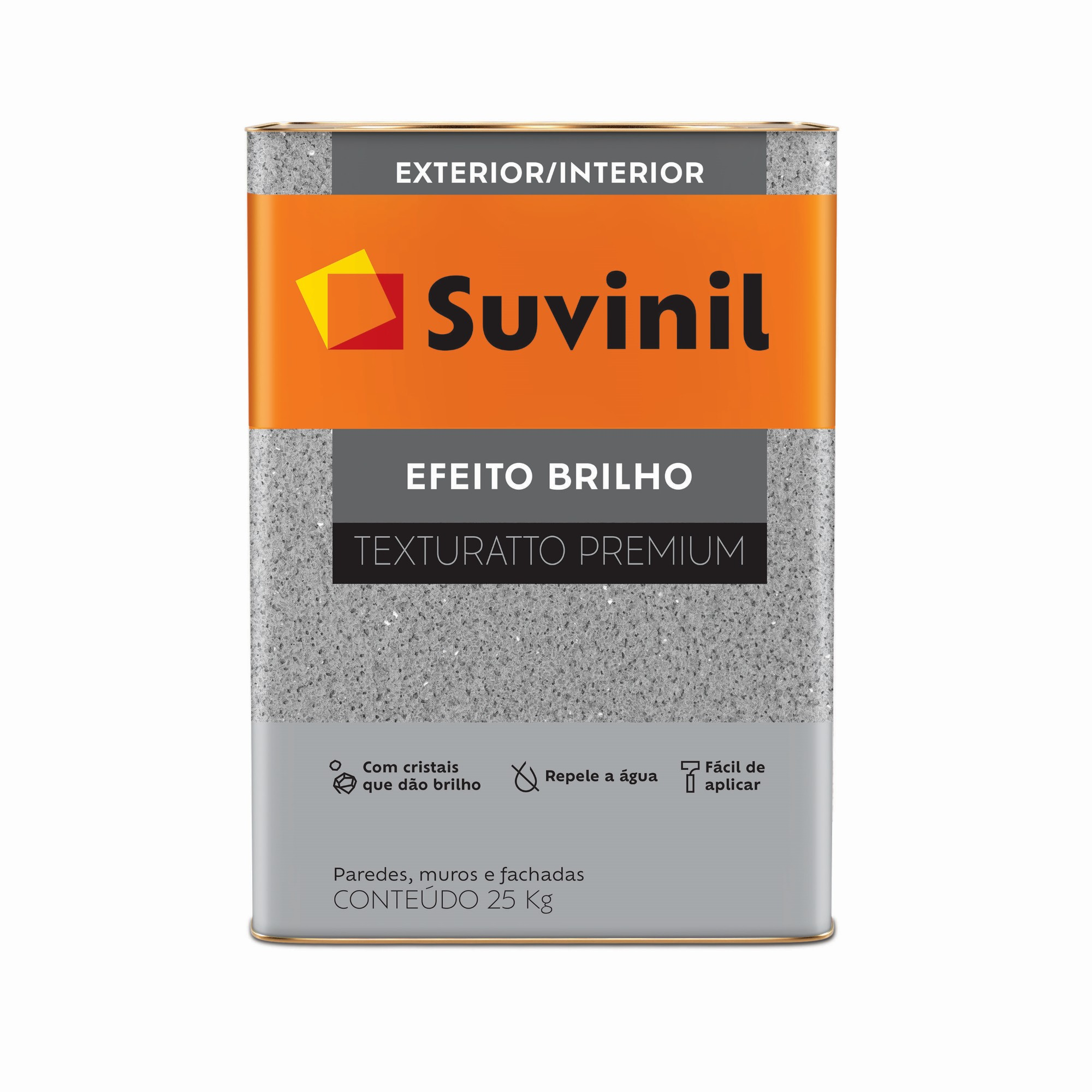 Textura Efeito Toque de Brilho Premium 250Kg Branco - Suvinil