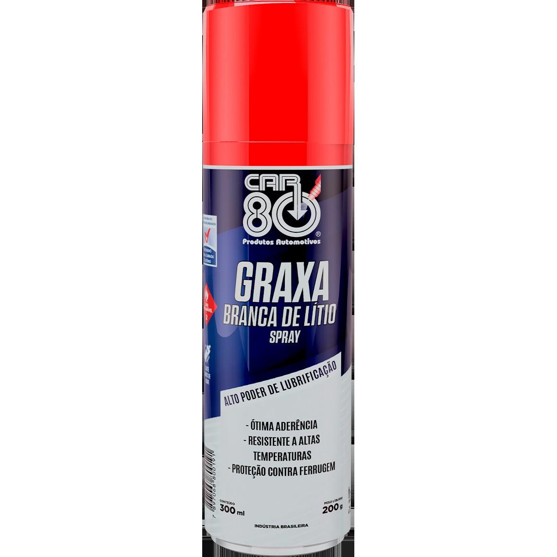 Graxa Branca de Litio em Spray 300 ml - Snap On