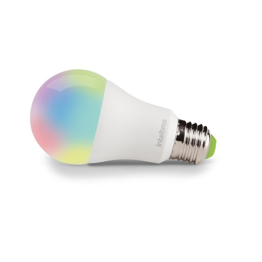 Lampada Smart LED A60 9W RGB Wi-fi E27 Bivolt - Intelbras