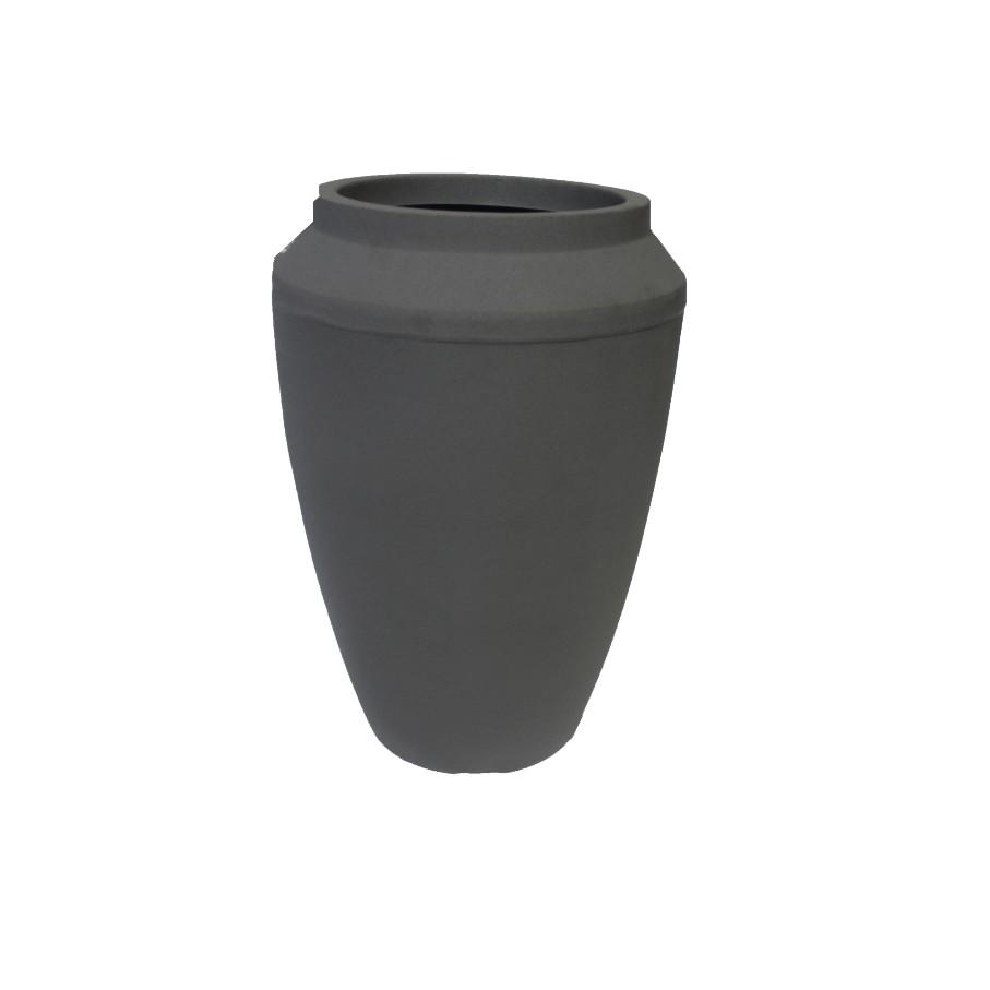 Vaso para Plantas 35cm Cinza - Vasap