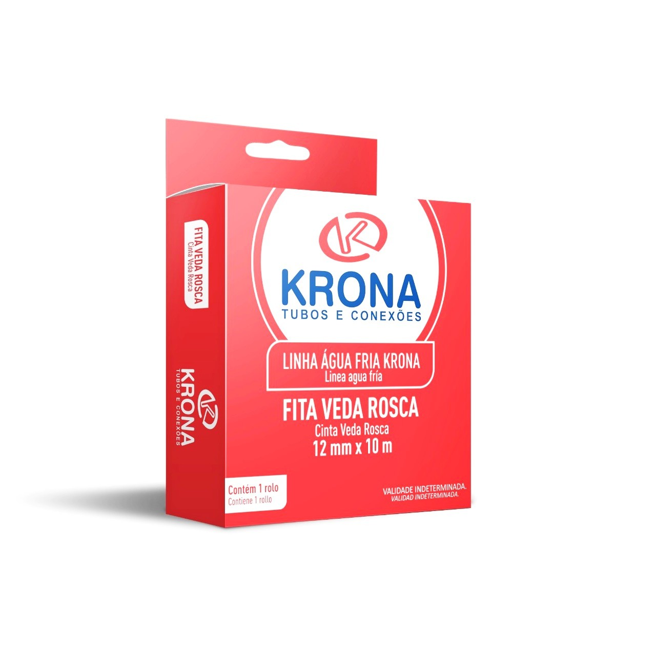 Fita Veda Rosca 12mm x 25m - Krona