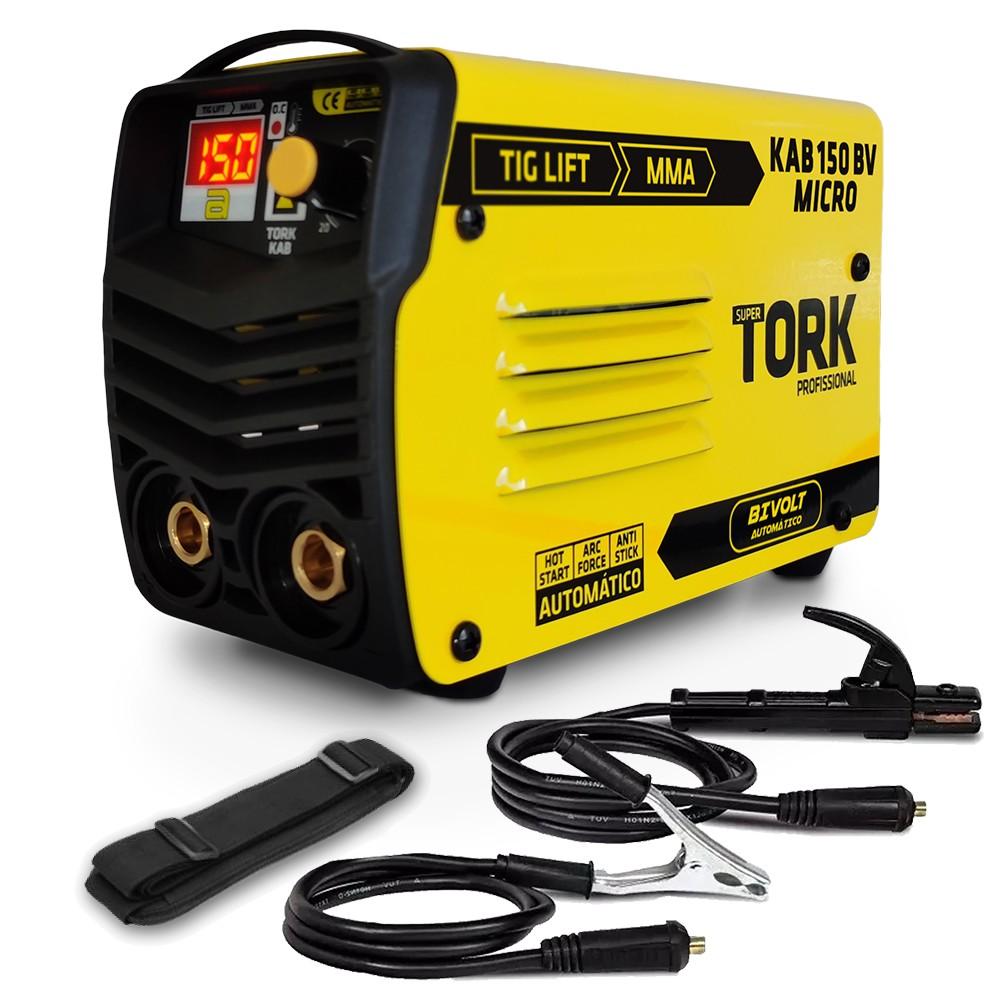 Maquina De Solda Inversora 150A 110220V - Tork