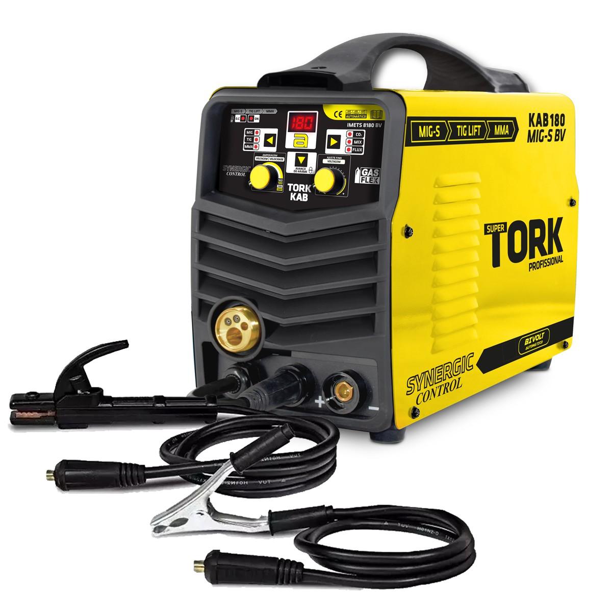 Maquina de Solda Inversora 180A 110220V - Tork