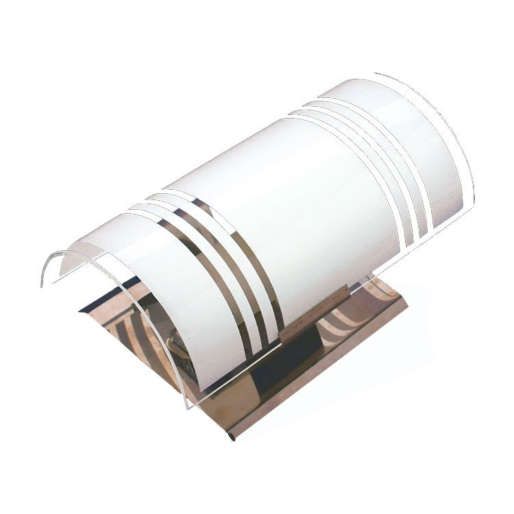 Arandela Calha Lisa Vidro e Aluminio - Suegil