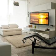"""Suporte para TV LED LCD Fixo de 32"""" a 75"""" e 46Kg - Elg"""