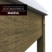 Kit 4 Cadeiras 4291 Madesa Rustic/Crema/Hibiscos