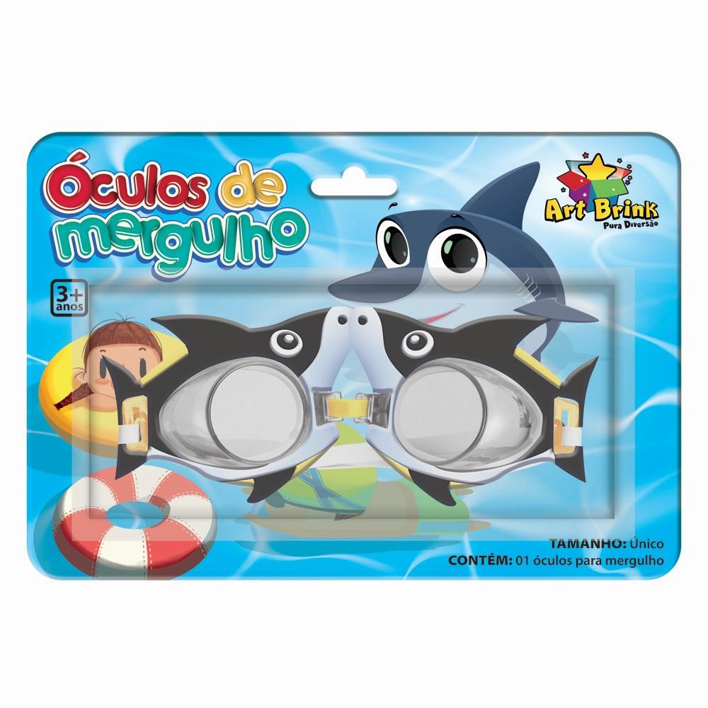 Oculos de Mergulho Infantil Doo Doo Shark - Zein