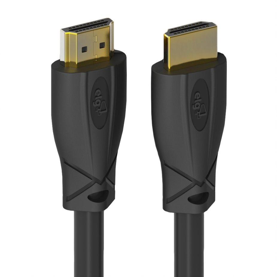 Cabo HDMI 20V 3D READY 4K ULTRAHD de 3 Metros Preto - ELG