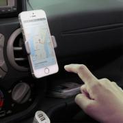 """Suporte Veicular para Smartphones de 3,5"""" a 7"""" - HECH-01 - ELG"""