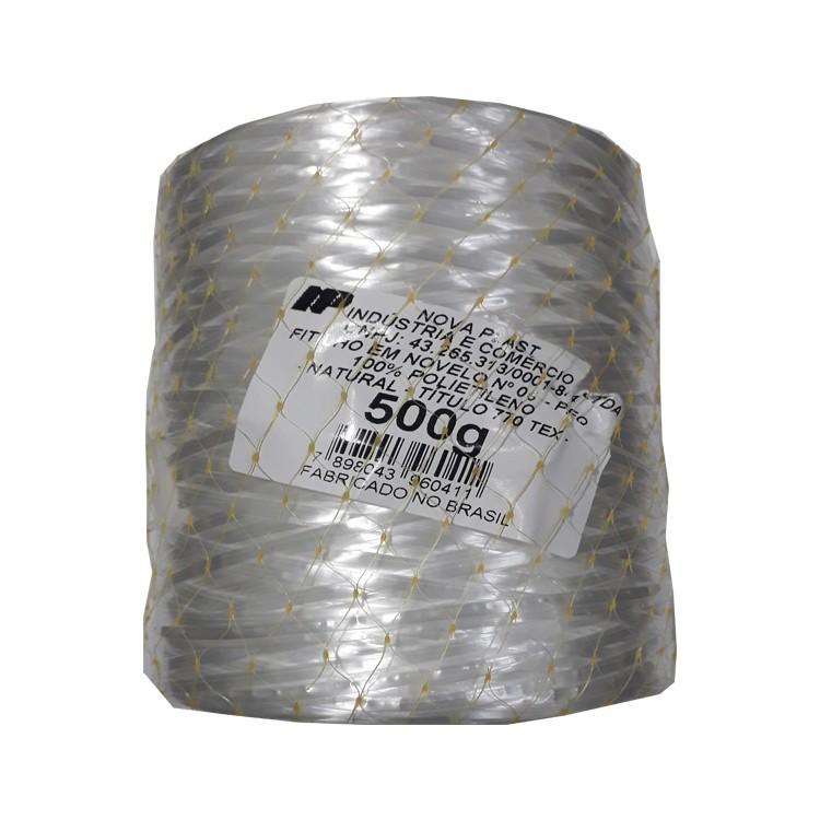 Fitilho Multiuso de Polietileno 27mm x 6500m Branco - Nova Plast