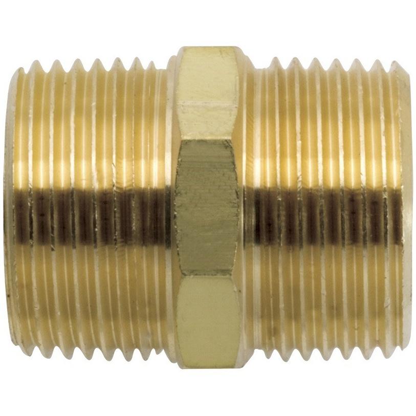 Niple de Liga de Cobre 12 Dourado - Blukit
