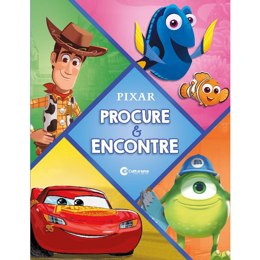 Livro Procure e Encontre Disney Pixar - Culturama