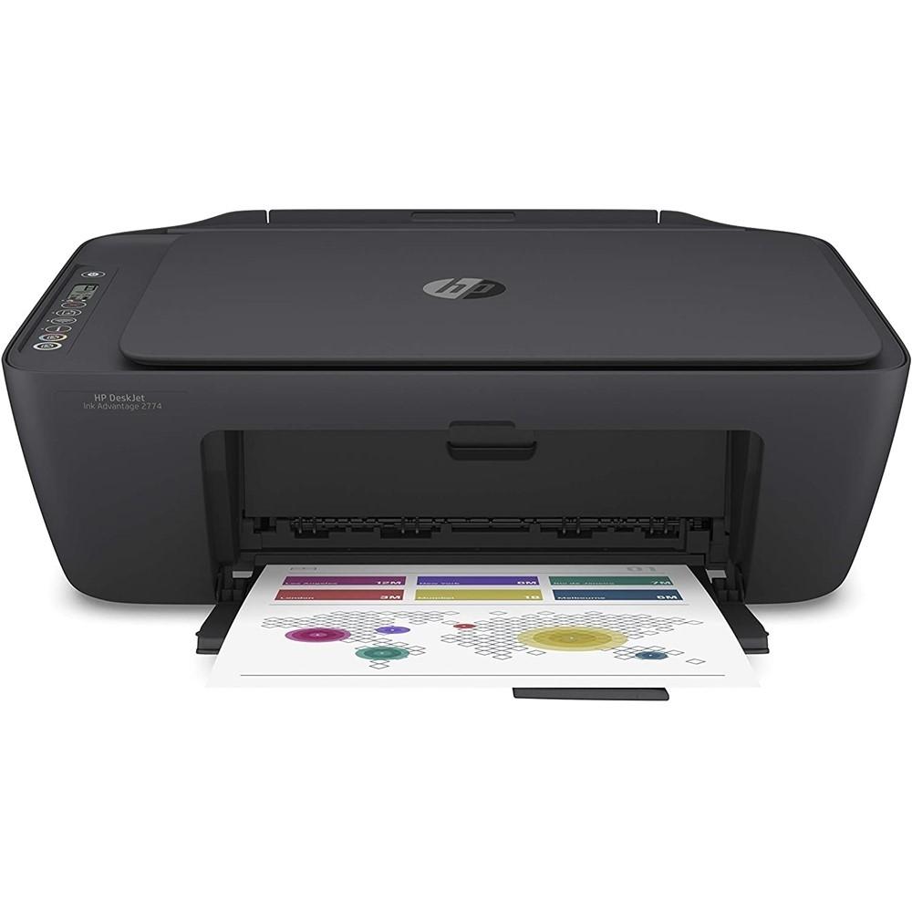 Impressora HP Multifuncional Jato Desk Wi-Fi
