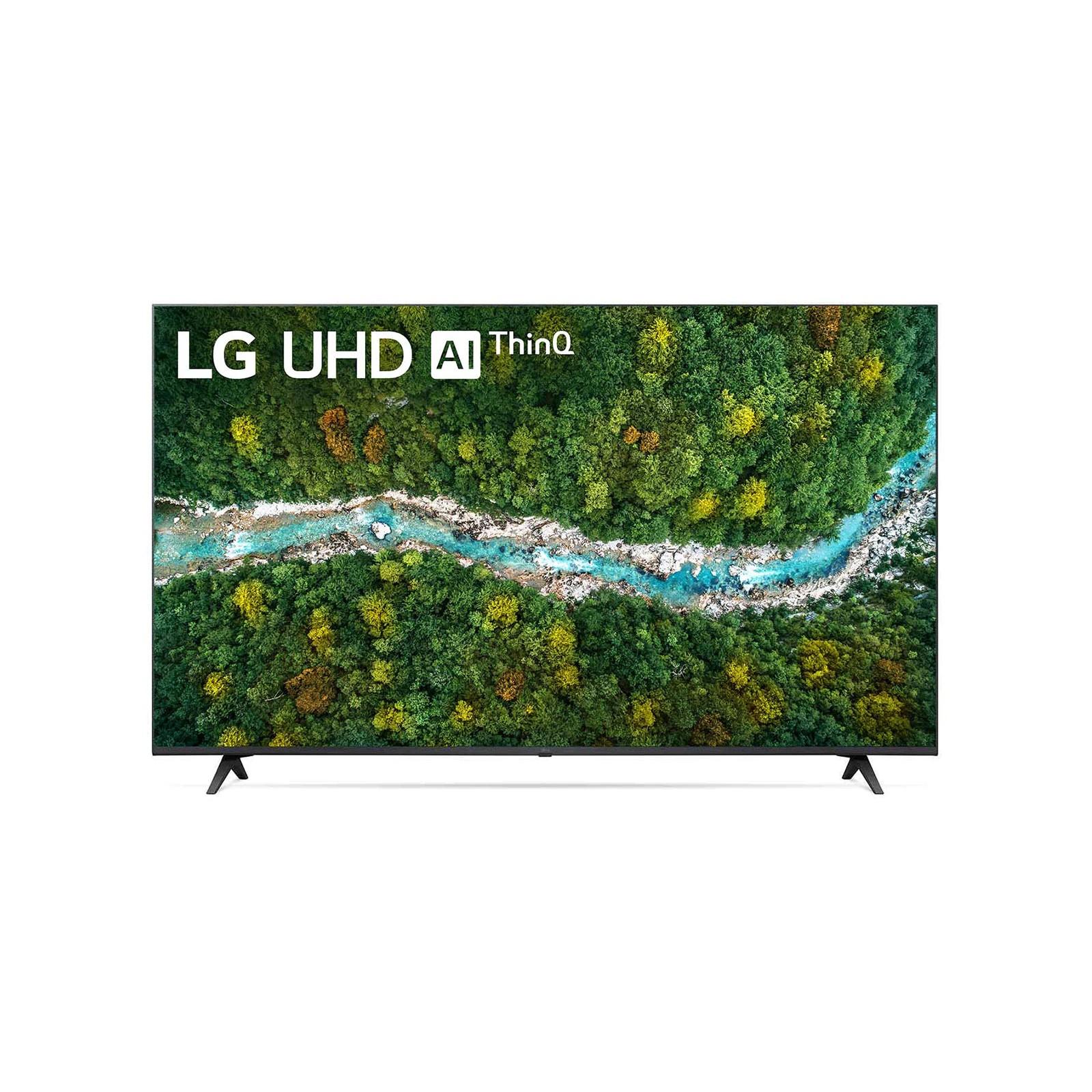 Smart TV LED 60 LG 4KUltra HD 60UP7750 - Conversor Digital Wi-Fi 3 HDMI 2 USB