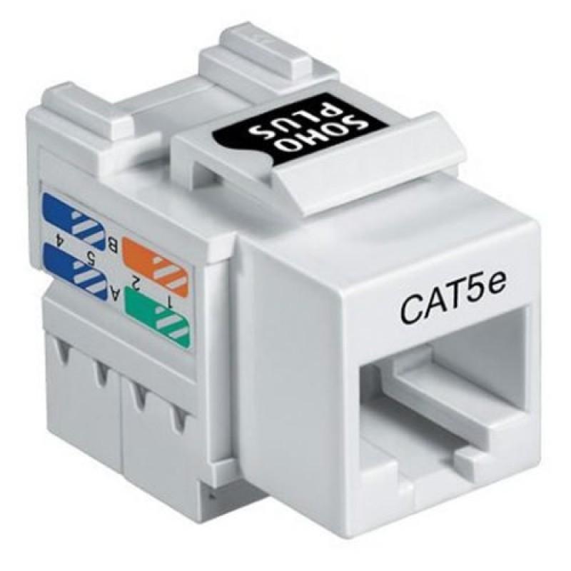 Plug Modular Rj45 Femea Rede Cat5
