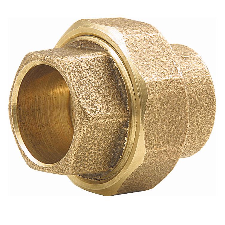 Uniao Bronze Soldavel 15 mm - Eluma