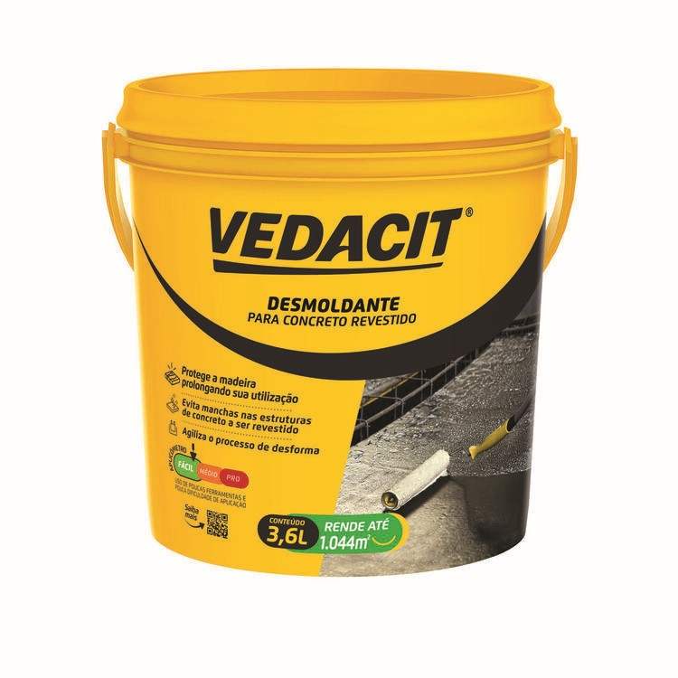 Desmoldante Desmol CD 36L - Vedacit