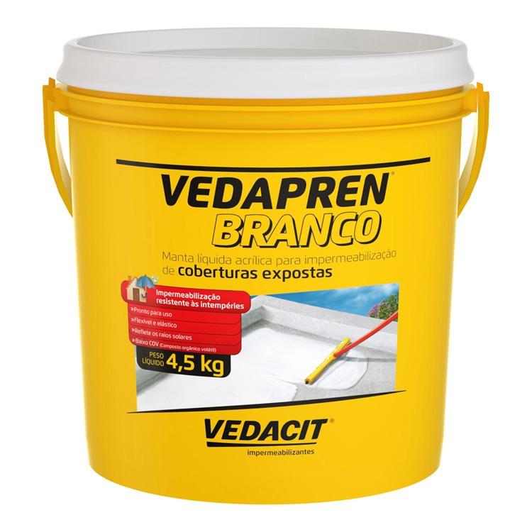 Manta Liquida Vedapren Branco 45kg - Vedacit
