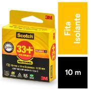 Fita Isolante Scotch 33+ 19 mm x 10 m - 3M