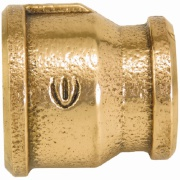 """Luva de Redução Bronze Roscável 1"""" x 3/4"""" - Eluma"""