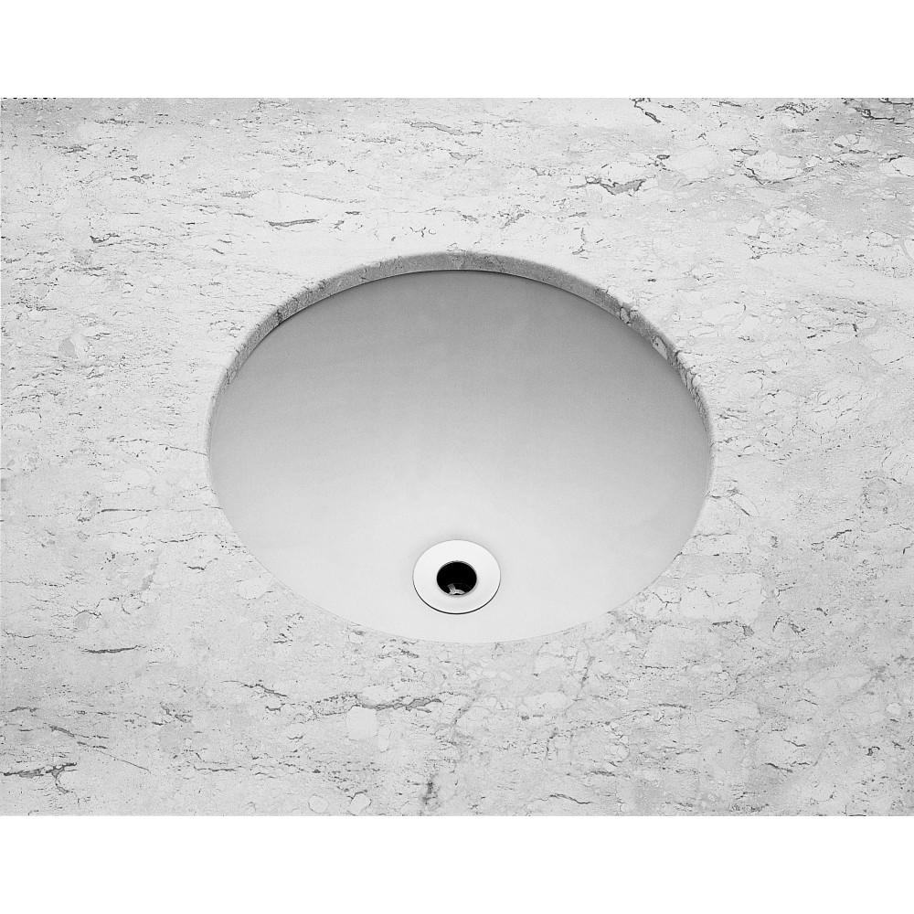 Cuba de Louca de Embutir Redondo 36x36 cm Branco - Celite