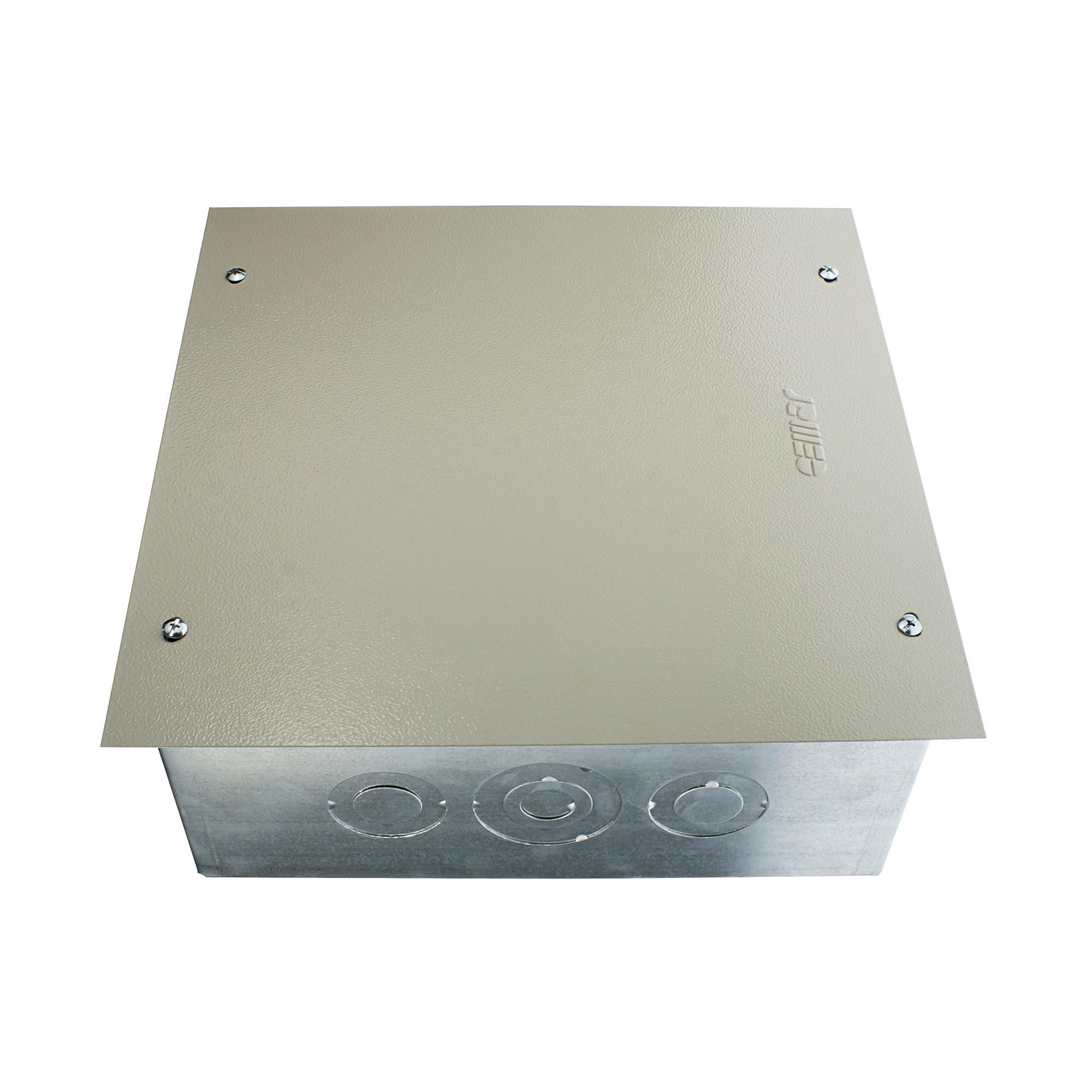 Caixa de Passagem Ferro Embutir 30x30x12cm CPE30 - Cemar