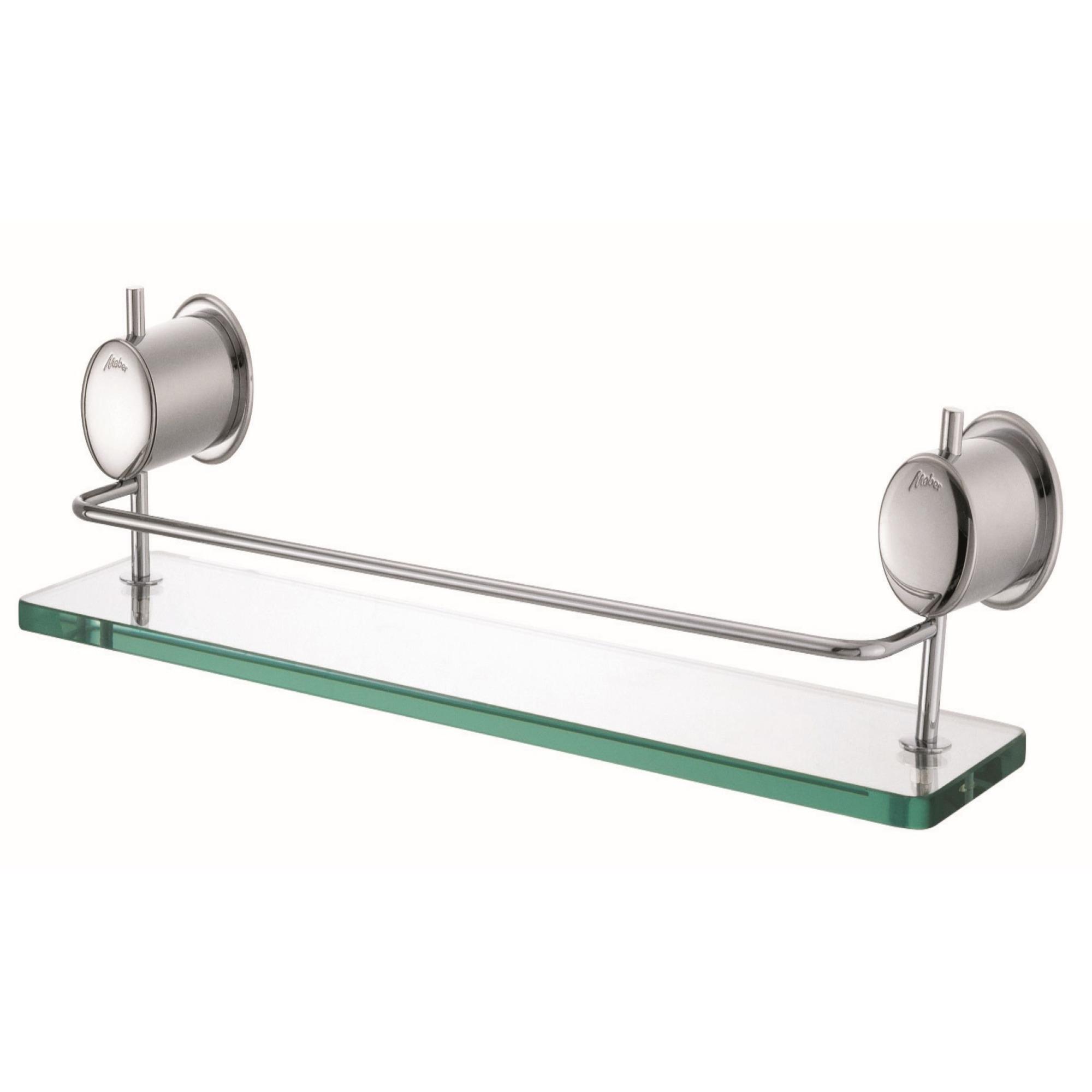 Porta Shampoo Cromado com Grade C40 608 - Meber