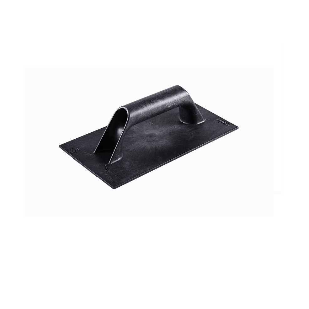 Desempenadeira Plastica Corrugada 14cm x 27cm Cabo Fechado de Poliestireno Preto - Astra