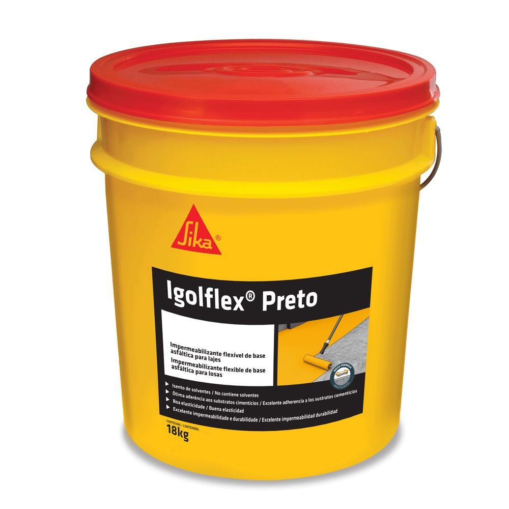 Impermeabilizante Igolflex 18kg Preto - Sika