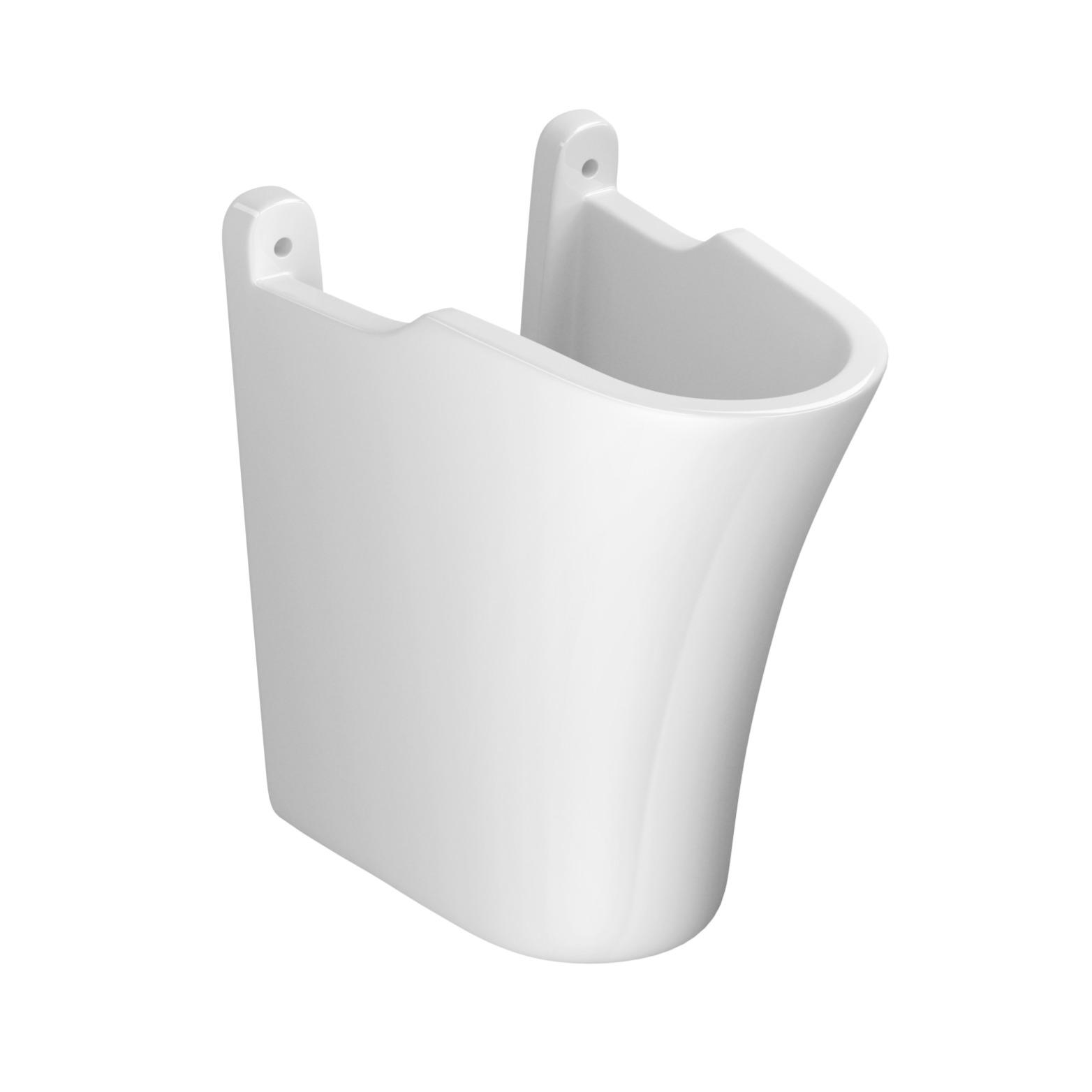 Coluna Deca Suspensa Universal Branco Gelo - CS117