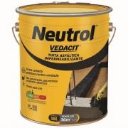Tinta Asfáltica Impermeabilizante Neutrol 18L - Vedacit