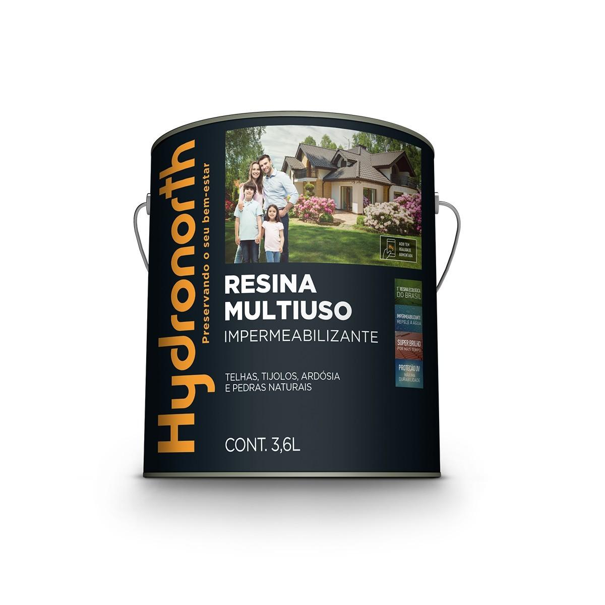 Resina Acrilica Multiuso Impermeabilizante 36 Litros Ceramica Onix - Hydronorth
