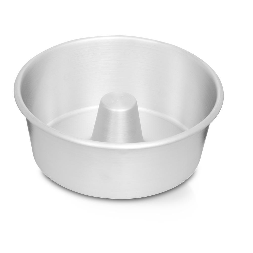 Forma de Aluminio para Bolo e Pudim Redondo 22cm - Nigro