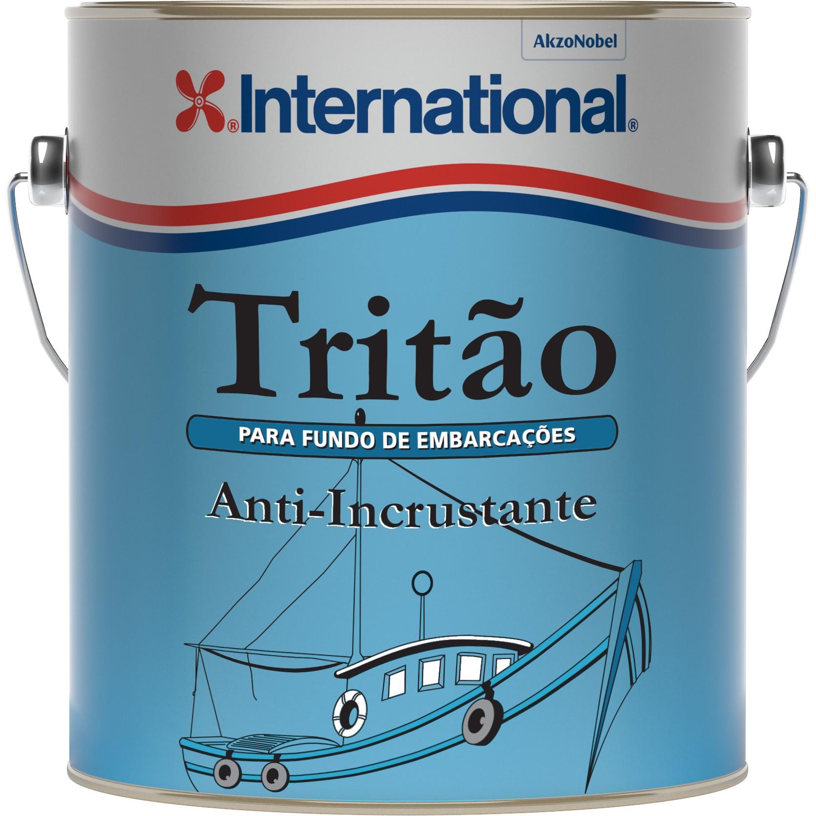 Anti Incrustante Tritao para Madeira 36L Vermelho - Inernacional