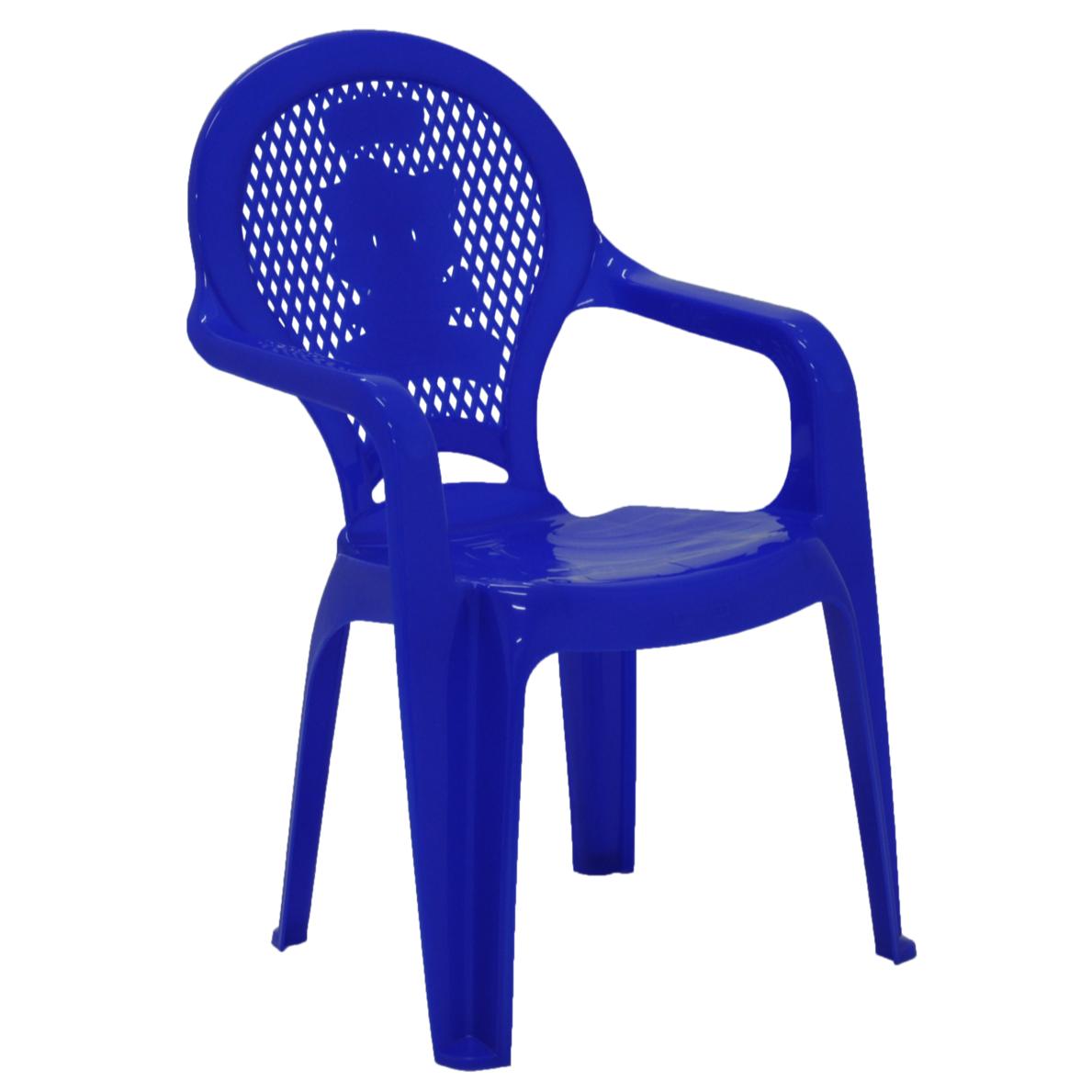 Poltrona Infantil de Plastico Estampada Azul 92264070 - Tramontina