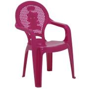 Poltrona Infantil de Plástico Estampada Rosa 92264060 - Tramontina