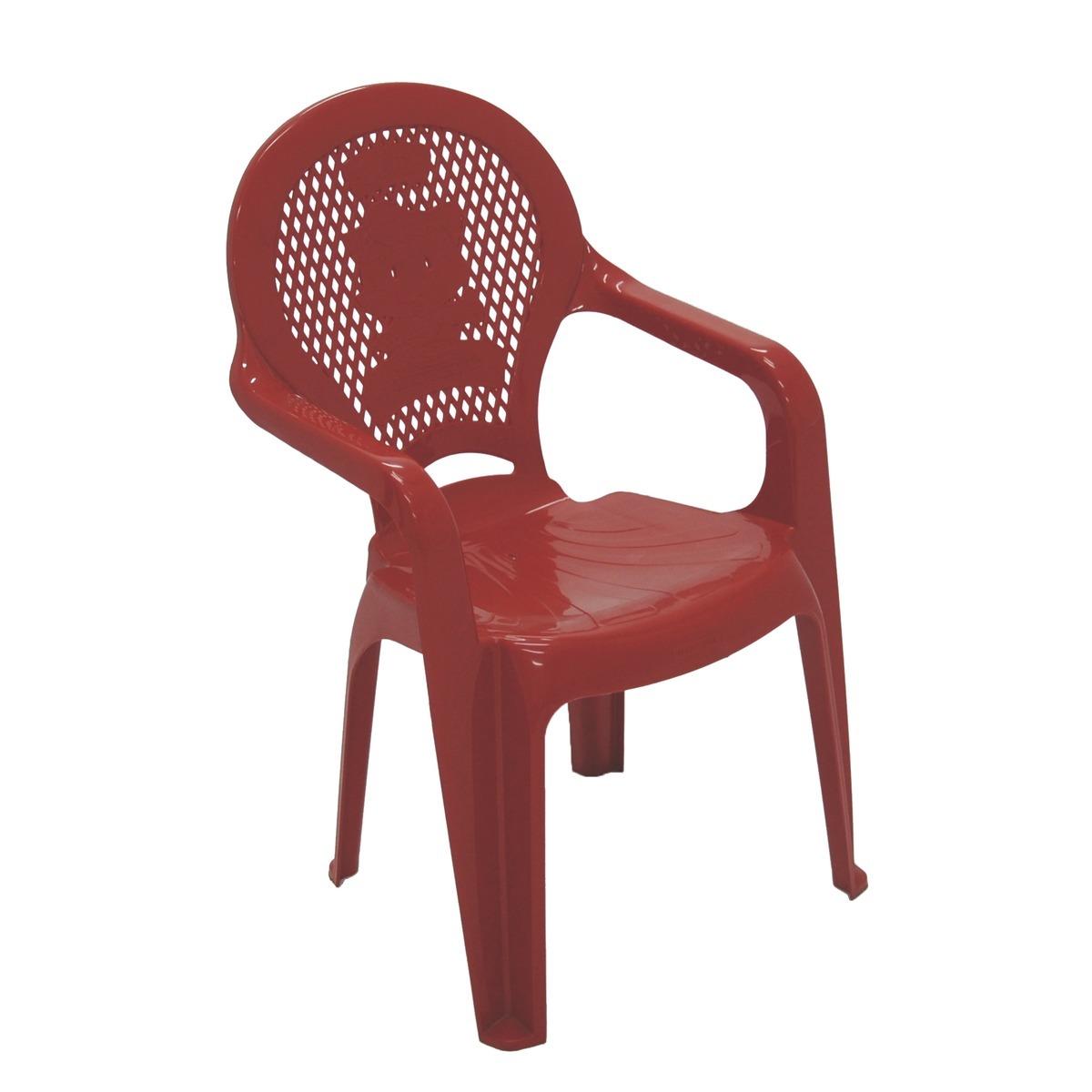 Poltrona Infantil de Plastico Estampada Vermelha 92264040 - Tramontina