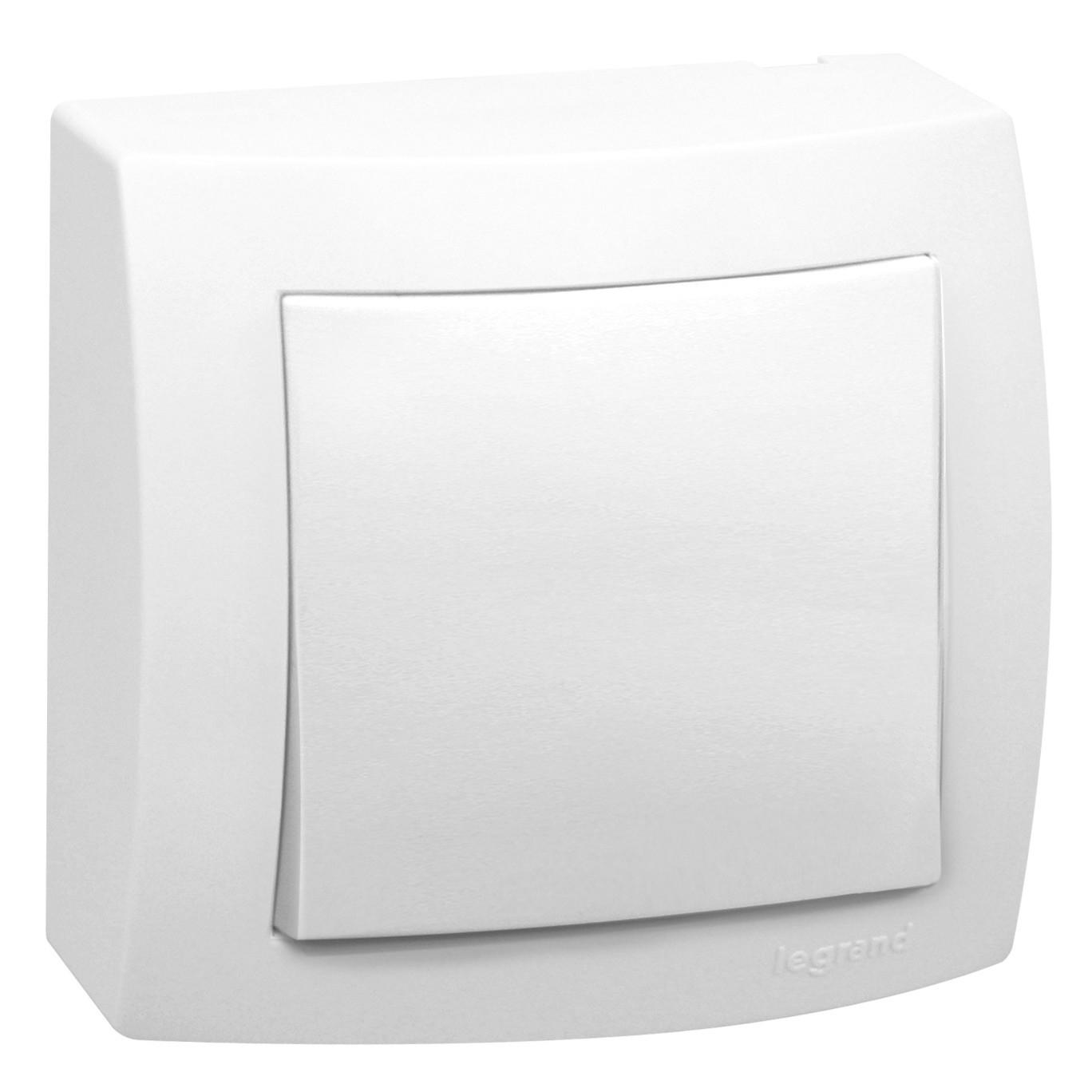 Conjunto Interruptor Paralelo 1 Modulo 10A - Branco - Sistema X - Legrand
