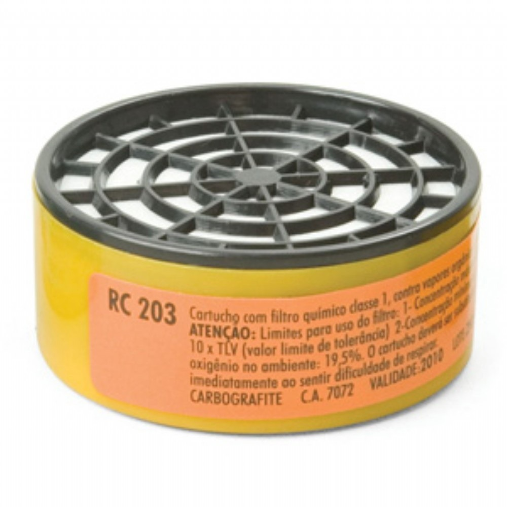 Filtro Refil para Mascara de Pintura RC203 - Carbografite