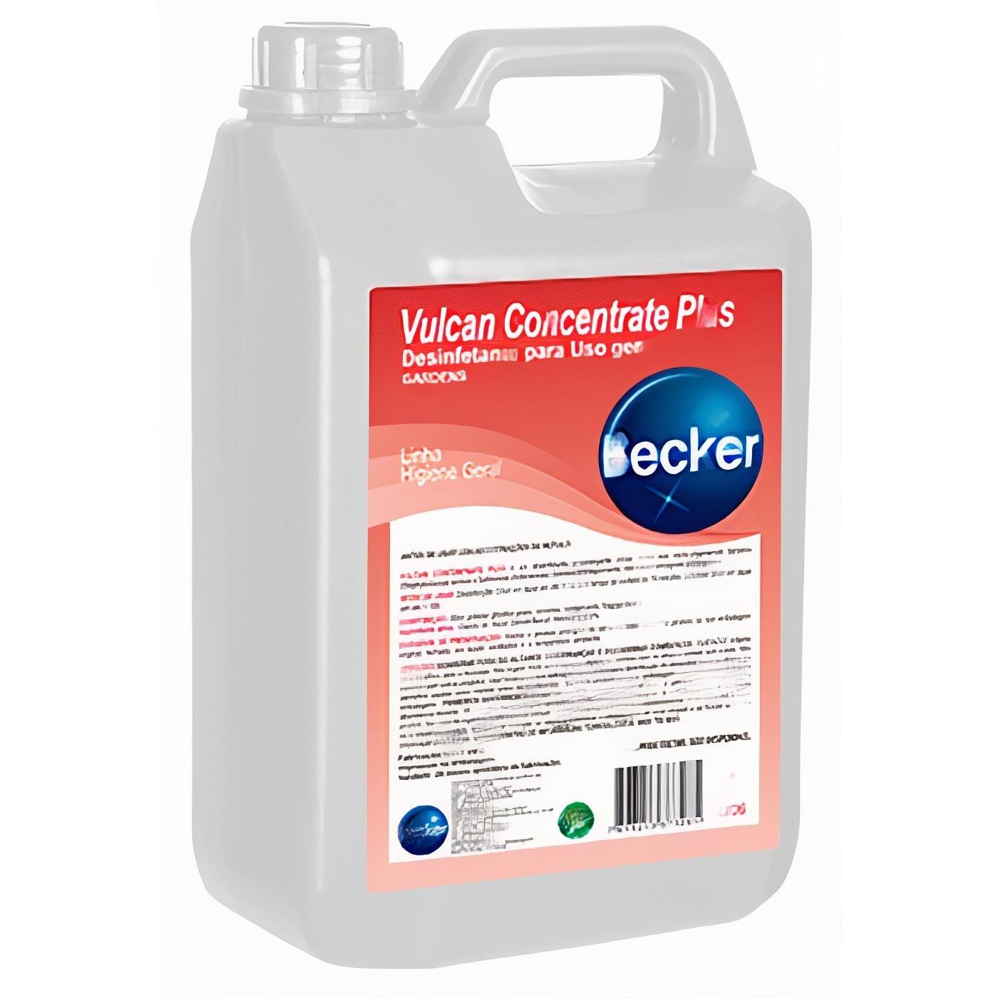 Desinfetante Vulcan Concetrate Plus 5L - Becker